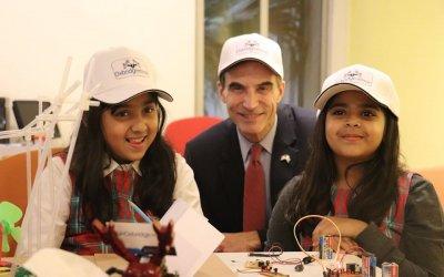 Visit of Paul W. Jones the Ambassador of USA at Oxbridge Innovative Solutions
