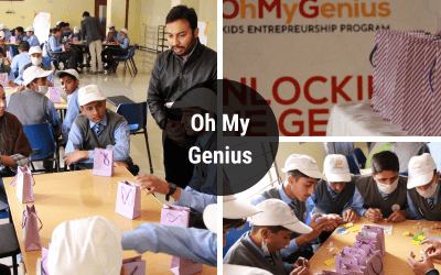 Oh My Genius – Oxbridge Sponsors an Event for Alkhidmat Foundation